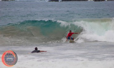 escolleras verano 2019  surfer Oscar Perez Mejia