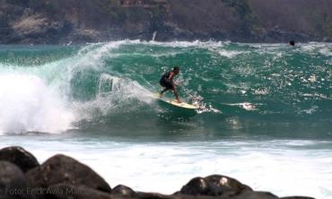 Surfer: Iván Sotelo - Foto: Erick Avila Marcial