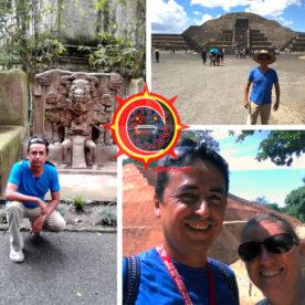 alber.tours Guía General - Collage Piramides Prehispanicas Teotihuacán Xihuatlán