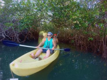 kayak en barra de potosí