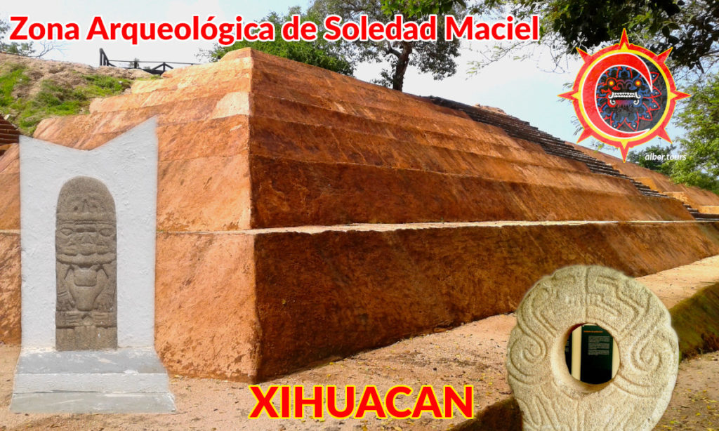 the Soledad de Maciel pyramids archaeological site museum xihuacan