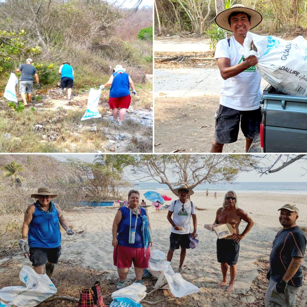 Cleaning Majahua Beach with Zhiro Plastic