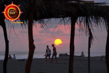 Sunset Rio Nexpa Mexico