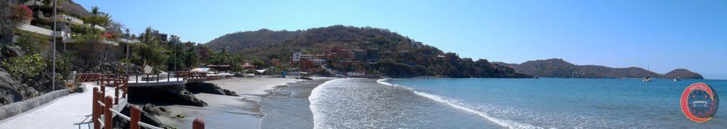 Panorámica Paseo del Pescador Zihuatanejo