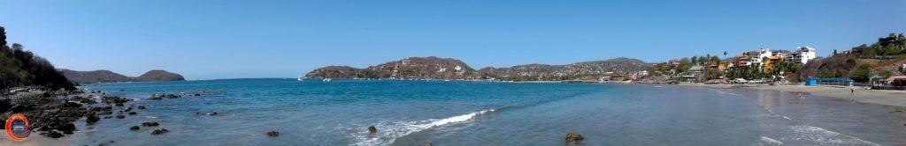 Panorámica Playa La Madera Zihuatanejo