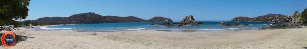 Panorámica Playa La Ropa Zihuatanejo