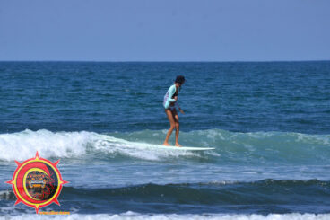 Mexico Longboard Surfing