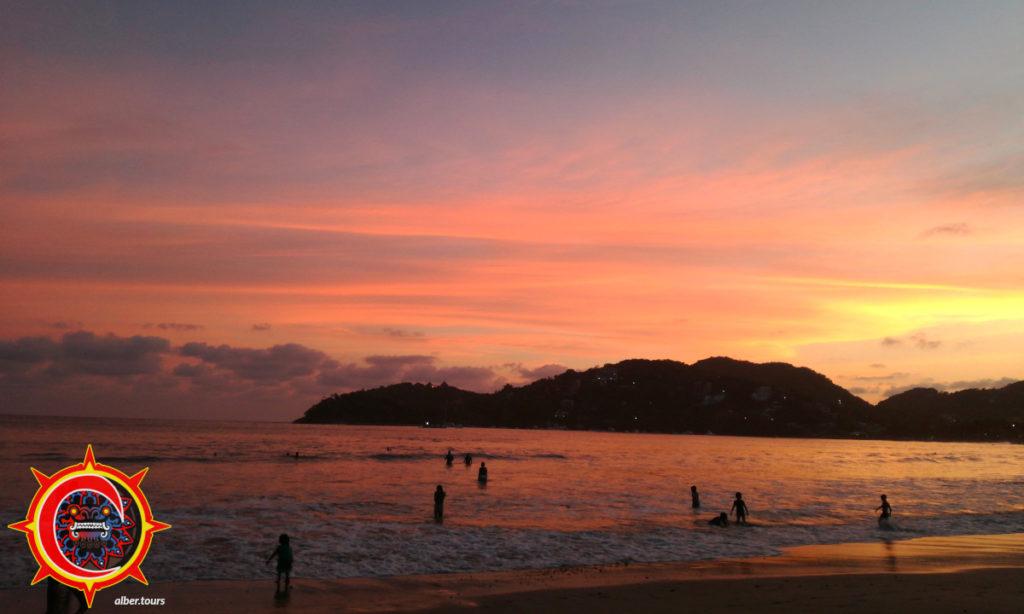 Atardecer en Playa la Madera