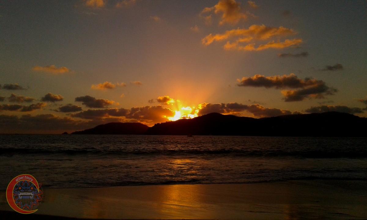Atardecer Playa La Ropa