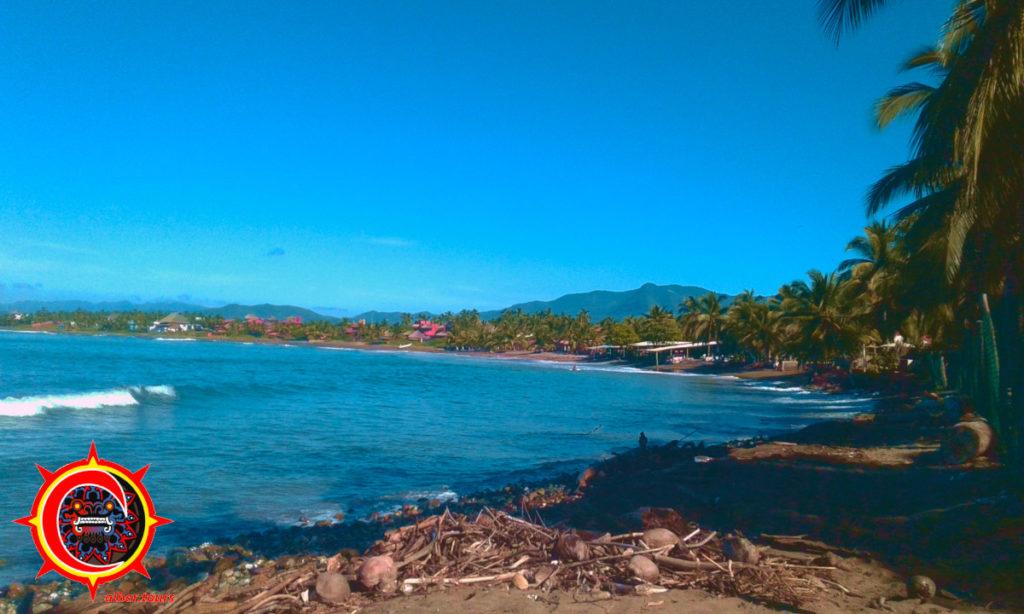 Tour a Playa la Saladita, Guerrero