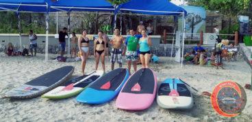 stand up paddle surf playa madera Zihuatanejo