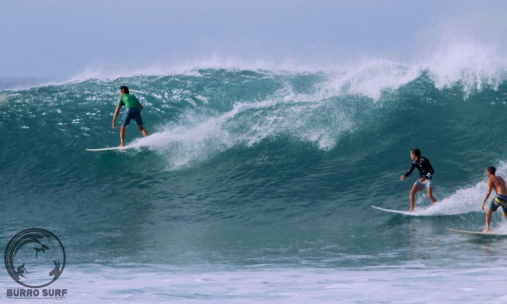 La Ticla Beach Surfing in Michoacán